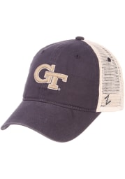 GA Tech Yellow Jackets University Meshback Adjustable Hat - Navy Blue