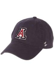 Arizona Wildcats Scholarship Adjustable Hat - Navy Blue