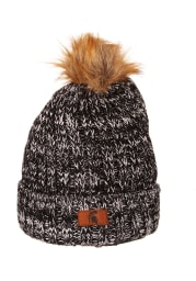 Zephyr Michigan State Spartans Grey Gracie Cuff Pom Womens Knit Hat