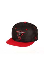 Zephyr Texas Tech Red Raiders Black Sawyer 2T Youth Snapback Hat