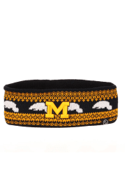 Zephyr Michigan Wolverines Navy Blue Carousel Headband Womens Knit Hat