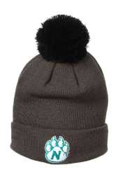 Zephyr Northwest Missouri State Bearcats Grey Pom Cuff Mens Knit Hat