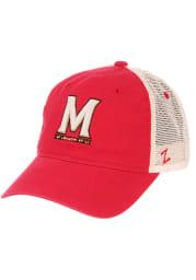 Maryland Terrapins University Adjustable Hat - Red