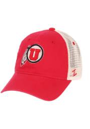 Utah Utes University Adjustable Hat - Red