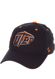 UTEP Miners Mens Navy Blue ZH Flex Hat