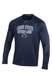 Under Armour Penn State Nittany Lions Mens Navy Blue Long Sleeve Sweatshirt