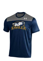 Under Armour La Salle Explorers Blue Foundation Tech Short Sleeve T Shirt