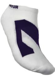 Northwestern Wildcats Performance Mens No Show Socks