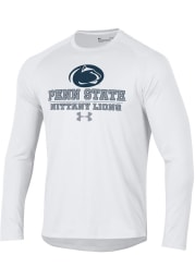 Under Armour Penn State Nittany Lions White Tech Long Sleeve T-Shirt