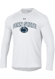 Under Armour Penn State Nittany Lions White Arch Mascot Long Sleeve T-Shirt