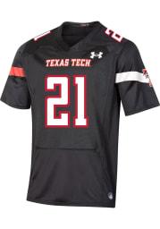 Under Armour Texas Tech Red Raiders Black Premier Replica Football Jersey
