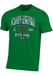 Under Armour Notre Dame Fighting Irish Green 2020 College Football Playoff Bound Short Sleeve T Shirt