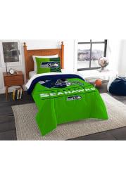 Seattle Seahawks Draft Twin Comforter Set Comforter
