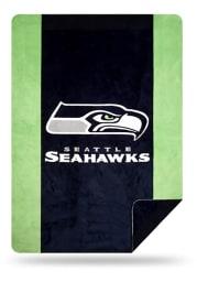 Seattle Seahawks 60x72 Silver Knit Throw Blanket