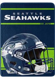 Seattle Seahawks Run Micro Raschel Blanket