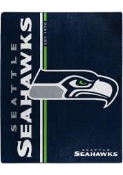 Seattle Seahawks Restructure Raschel Blanket