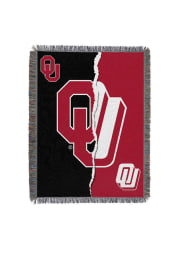 Oklahoma Sooners 48x60 Game of the Century Woven Tapestry Blanket