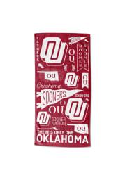 Oklahoma Sooners 30x60 Game of the Century Beach Towel