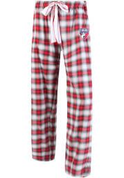 FC Dallas Womens Red Plaid Forge Loungewear Sleep Pants