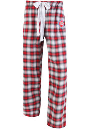 Detroit Pistons Womens Red Plaid Forge Sleep Pants