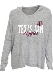 Texas A&M Aggies Womens Grey Reprise Hooded Sweatshirt