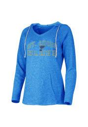 St Louis Blues Womens Blue Mainstream Hooded Sweatshirt