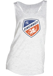 FC Cincinnati Womens Grey Velocity Tank Top