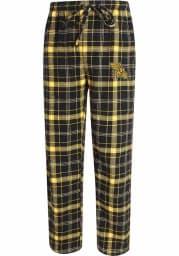 Missouri Western Griffons Mens Black Plaid Flannel Flannel Sleep Pants