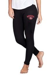 San Francisco 49ers Womens Black Fraction Pants