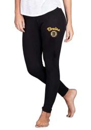 Boston Bruins Womens Black Fraction Pants