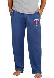 Minnesota Twins Mens Navy Blue Quest Sleep Pants