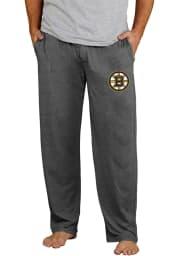 Boston Bruins Mens Grey Quest Sleep Pants