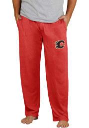 Calgary Flames Mens Red Quest Sleep Pants