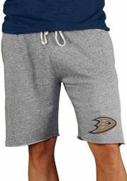 Anaheim Ducks Mens Grey Mainstream Shorts