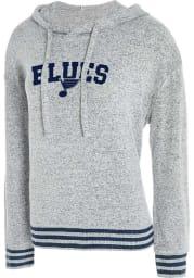 St Louis Blues Womens Grey Siesta Hooded Sweatshirt