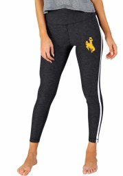 Wyoming Cowboys Womens Charcoal Centerline Pants