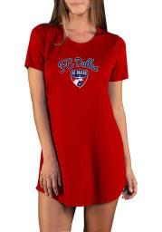 FC Dallas Womens Red Marathon Loungewear Sleep Shirt