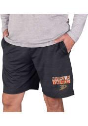 Anaheim Ducks Mens Charcoal Bullseye Shorts