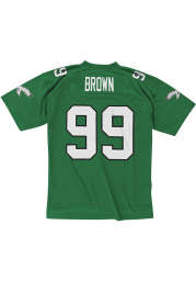 Philadelphia Eagles Jerome Brown Mitchell and Ness 1990 Replica Throwback Jersey