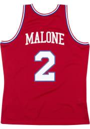 Moses Malone Philadelphia 76ers Mitchell and Ness 82-83 Swingman Swingman Jersey
