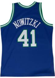 Dirk Nowitzki Dallas Mavericks Mitchell and Ness 98-99 Throwback Swingman Jersey