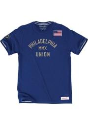 Mitchell and Ness Philadelphia Union Blue Team History Short Sleeve T Shirt
