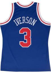Allen Iverson Philadelphia 76ers Mitchell and Ness 96-97 Swingman Swingman Jersey
