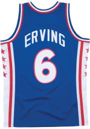 Julius Erving Philadelphia 76ers Mitchell and Ness 76-77 Swingman Swingman Jersey
