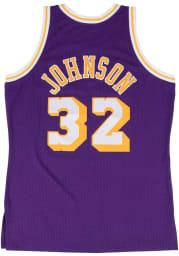 Magic Johnson Los Angeles Lakers Mitchell and Ness 84-85 Swingman Swingman Jersey