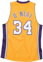 Shaquille O'Neal Los Angeles Lakers Mitchell and Ness 99-00 Swingman Swingman Jersey