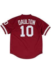 Darren Daulton Philadelphia Phillies Mitchell and Ness 1991 Throwback Cooperstown Jersey - Maroon