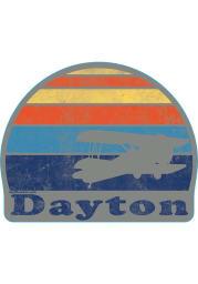 Ohio Sunset Stickers