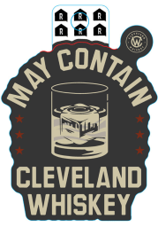 Cleveland Whiskey May Contain Whiskey Stickers