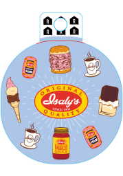 Pittsburgh Isalys Icons Stickers